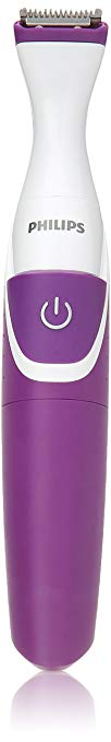 Philips BikiniGenie Cordless Bikini Trimmer for Women, Showerproof Hair Removal, BRT383/50