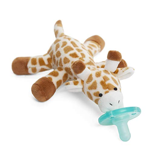 WubbaNub Infant Pacifier - Giraffe - Pacifier for Breastfed Babies