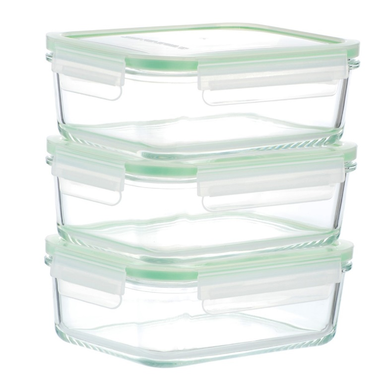 Food Storage Container: Kinetic Glass Lunch Containers