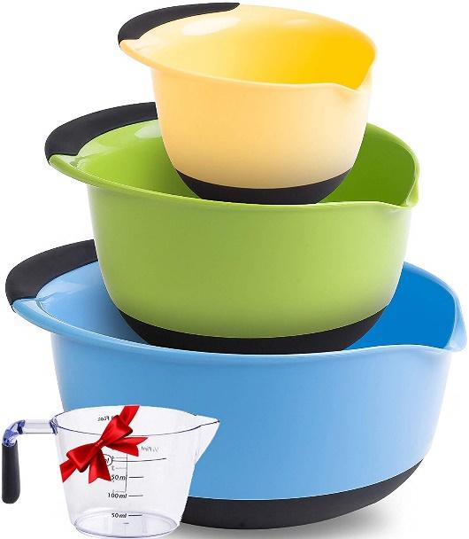 Mixing Bowls: Premium Plastic Mixing Bowls