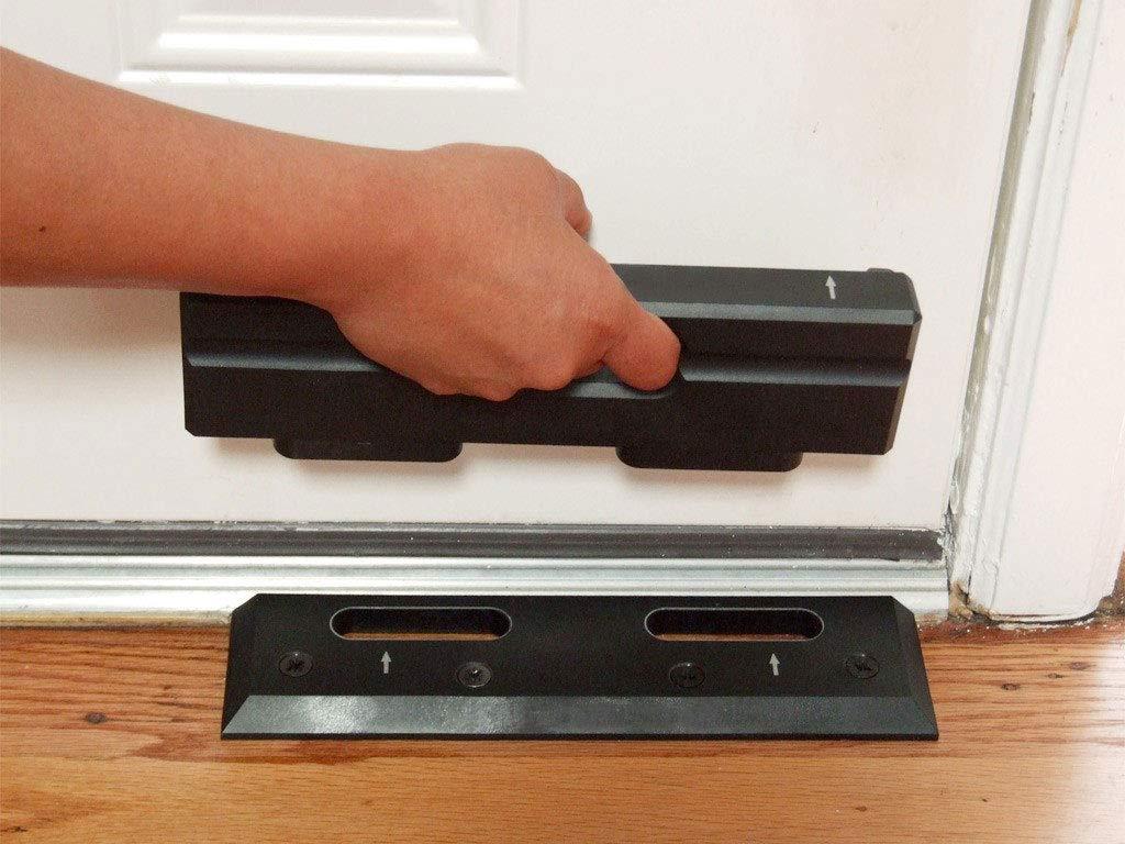 OnGARD Door Reinforcement Alternative | Front Door Security | Stops Home Invasions & Burglaries. The OnGUARD Door Barricade Withstands up to 3000 Lbs of Violent Force.
