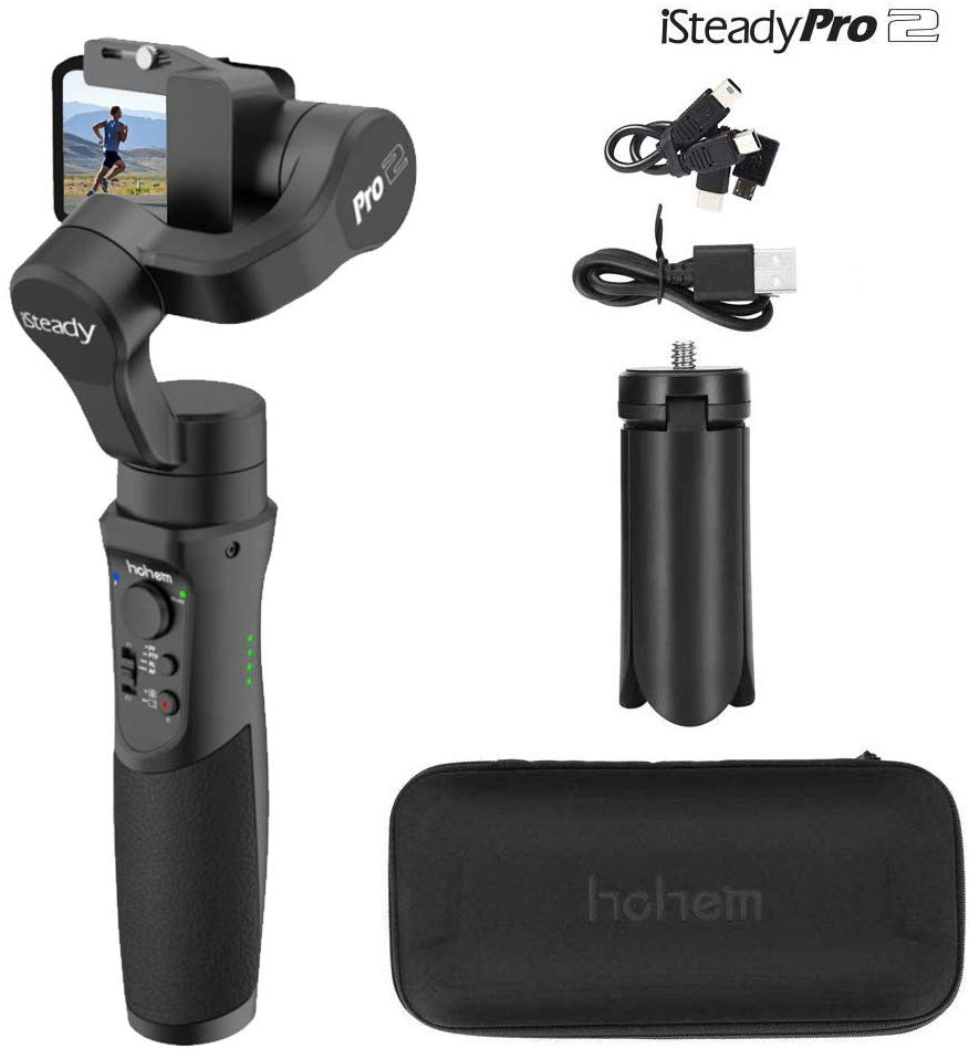 Hohem iSteady Pro 2, 3-Axis Splash Proof Gimbal Stabilizer