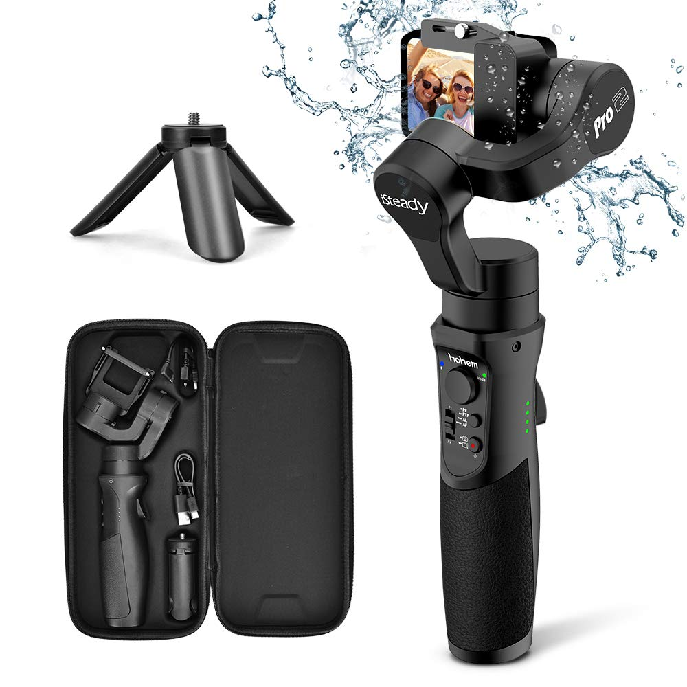 3axis Gimbal Stabilizer for GoPro Action Camera Handheld