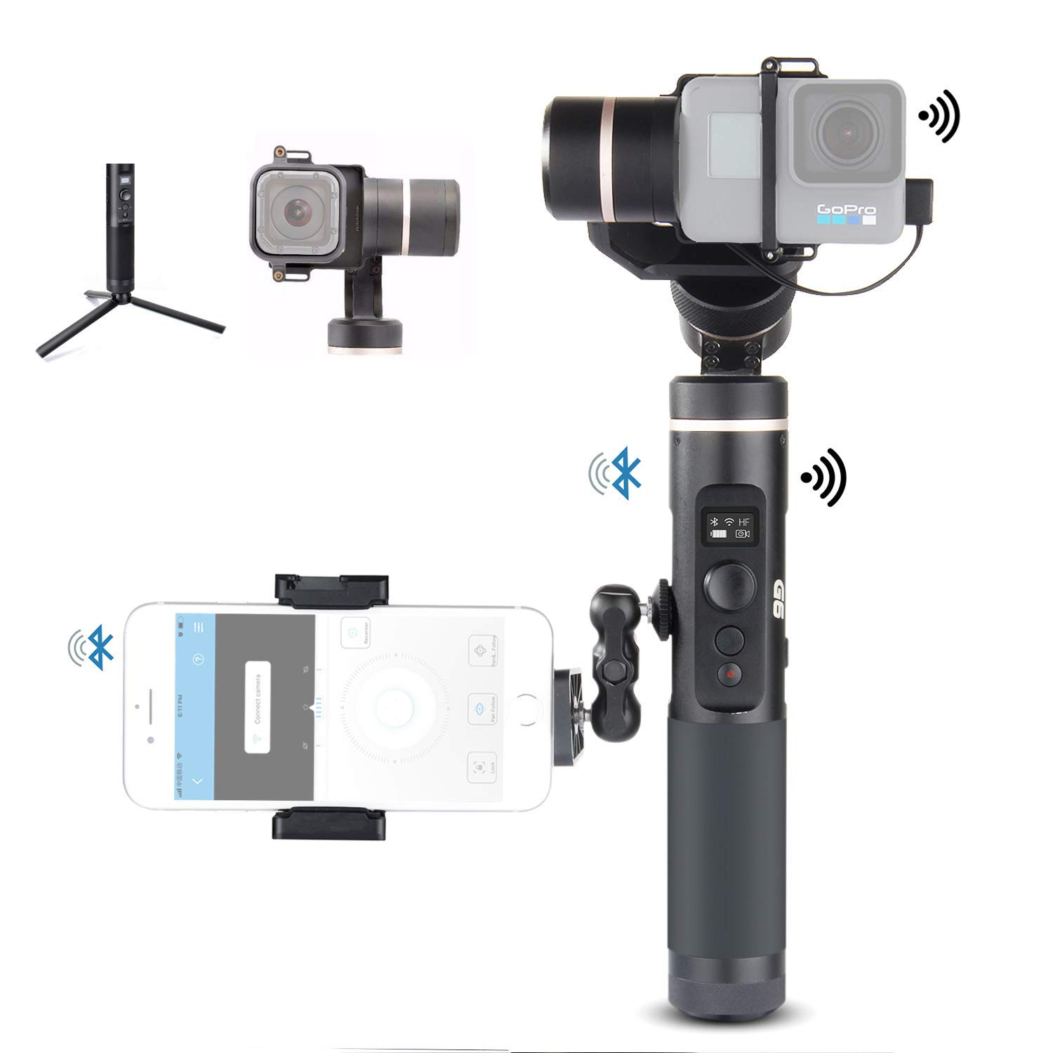 Feiyu G6 Kit 3-Axis Action Camera Gimbal