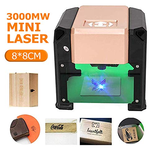 Crafts Man 3000mW Mini Laser Engraving Machine Desktop High Speed