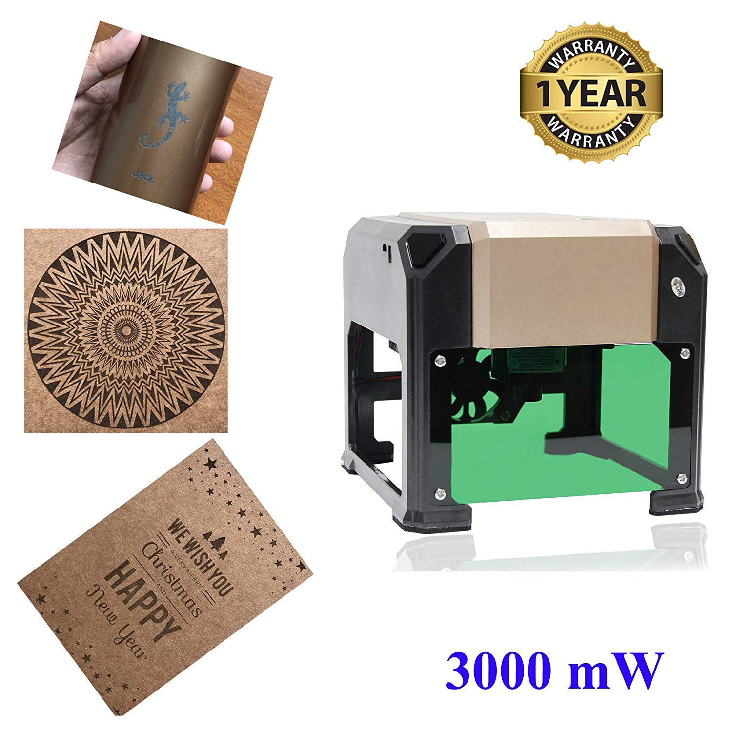 Laser Engraver Machine, Laser Engraving Machine 3000mW