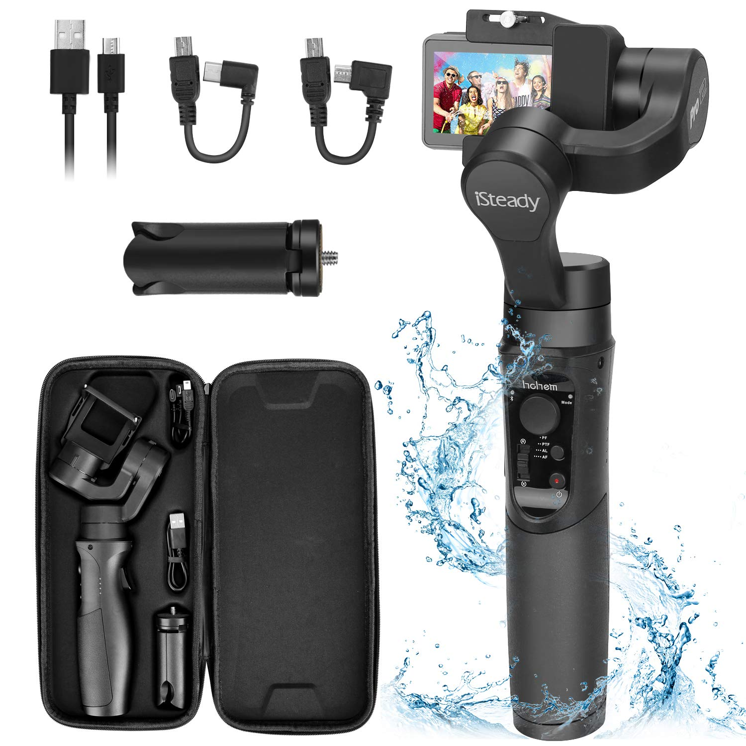 Hohem iSteady Pro 2 Water Splash Proof Gimbal Stabilizer