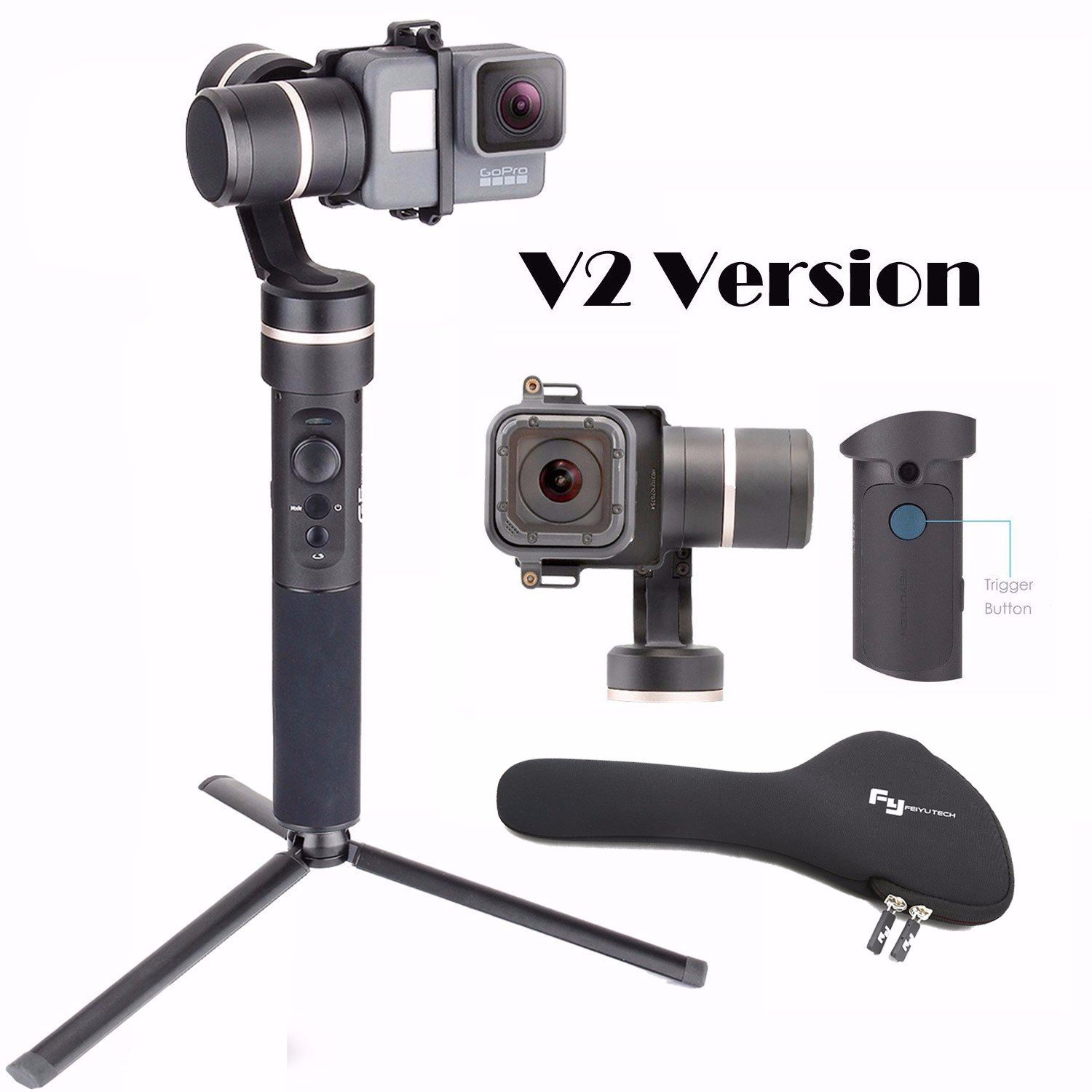 Feiyu FeiyuTech G5 V2 Updated 3 Axis Splash Proof Handheld Gimbal