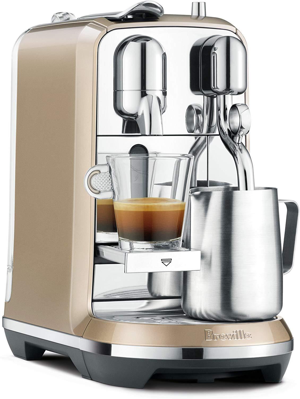 Breville-Nespresso USA Nespresso Creatista Plus Coffee Espresso Machine