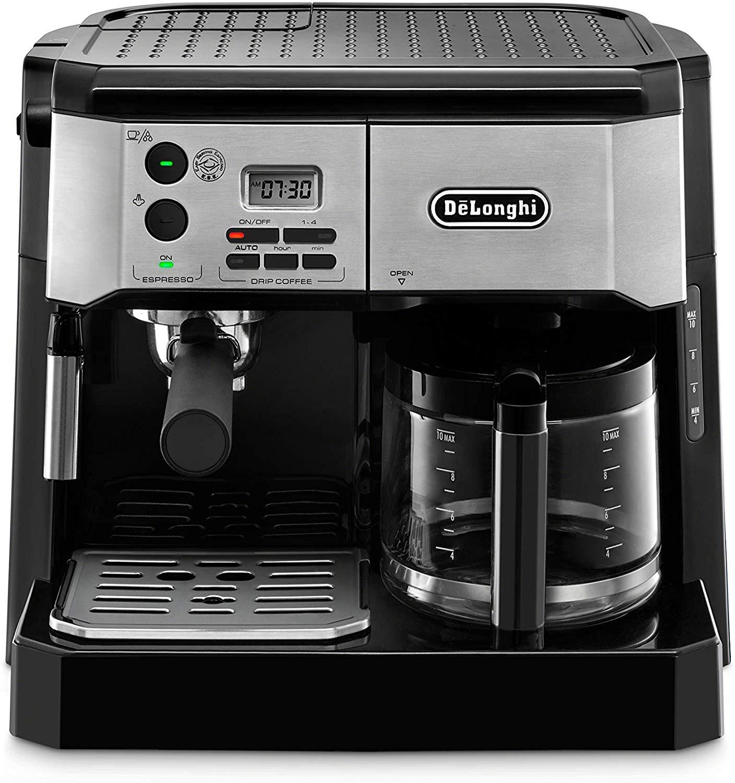 De'Longhi BCO430BM Combination Pump Espresso and 10c Drip Coffee Machine with Advanced Cappuccino System
