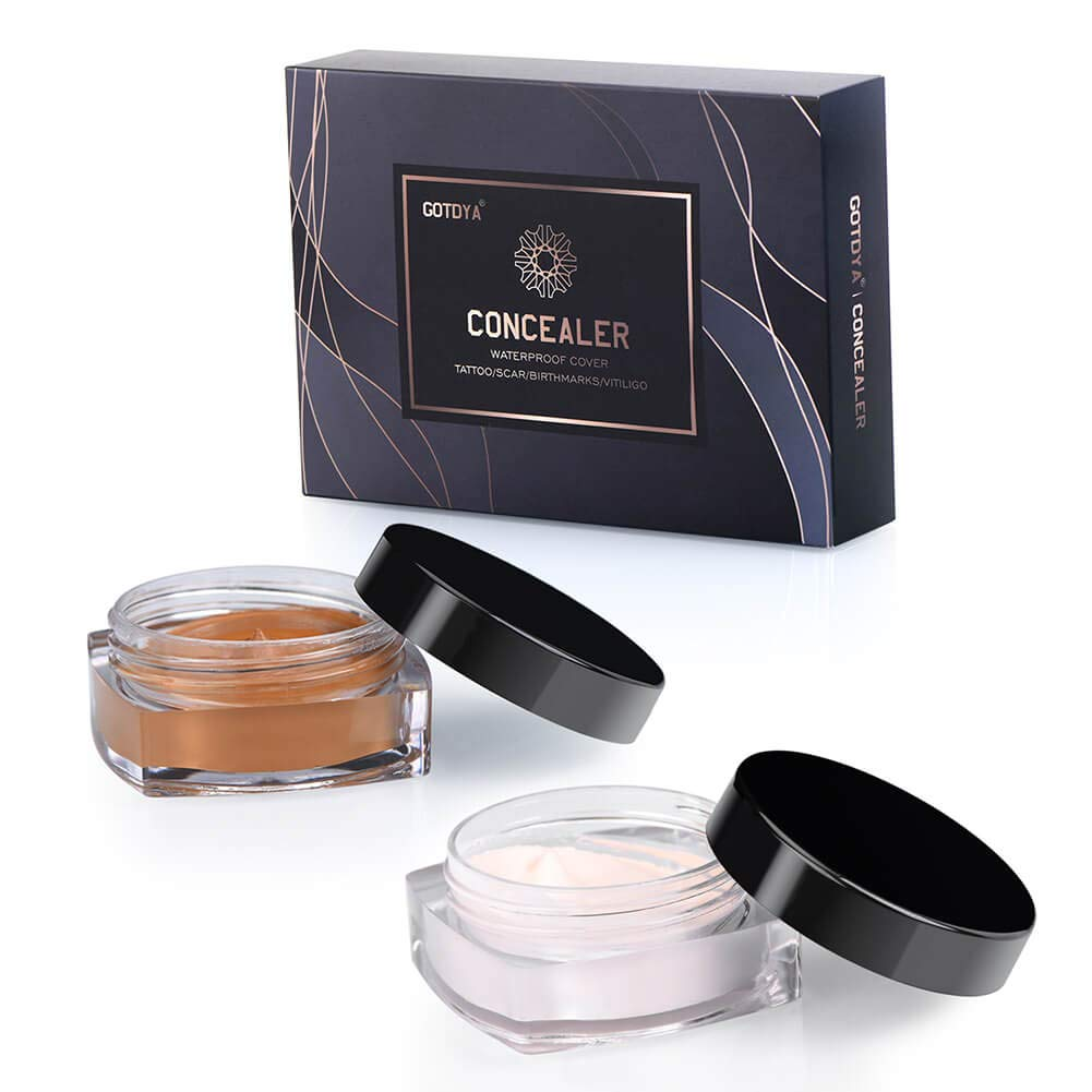 Concealer Set for Tattoo Cover Up Makeup Waterproof