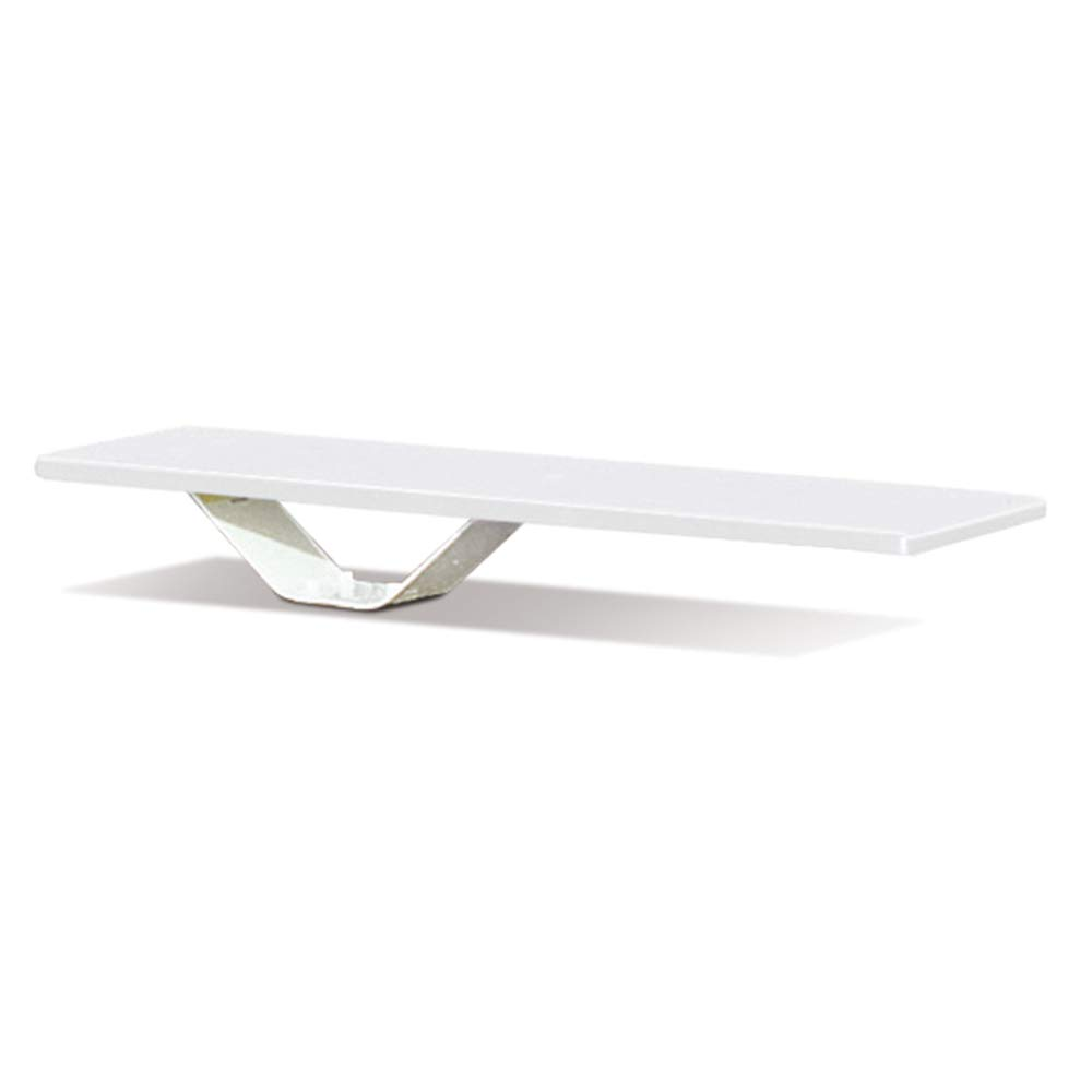 S.R. Smith 68-209-58662 Frontier II Jump White Stand with 6-Foot Frontier II Diving Board, White