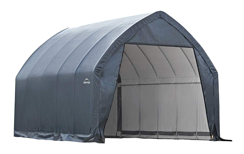 ShelterLogic Garage-in-a-Box SUV/Truck Shelter, Grey, 13 x 20 x 12 ft. B003AQNKDU