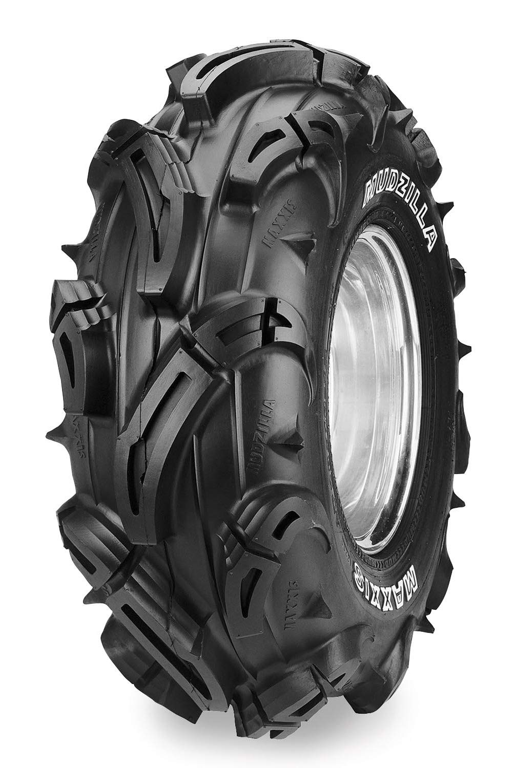Maxxis M966 Mudzilla Tire - Front/Rear - 27x9x12 , Tire Size: 27x9x12, Position: Front/Rear, Rim Size: 12, Tire Ply: 6, Tire Type: ATV/UTV, Tire Construction: Radial, Tire Application: Mud/Snow TM16677300
