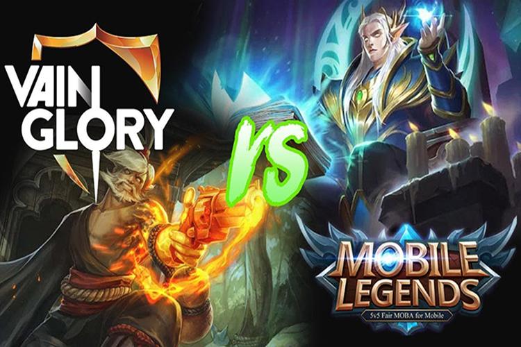 Mobile Legend vs Vainglory
