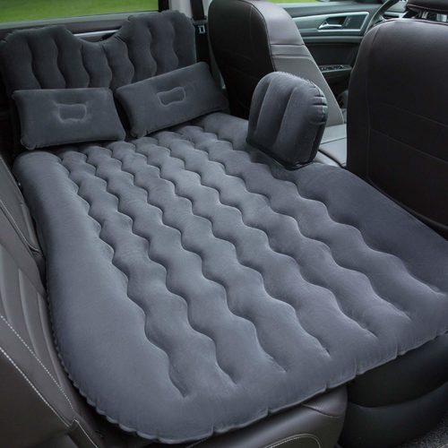 Onirii Car Inflatable Air Mattress Back Seat Pump Portable Travel,Camping,Vacation,Sleeping Blow-Up Bed,Flitaing Bed, Floating Bed fits SUV,Truck,Minivan