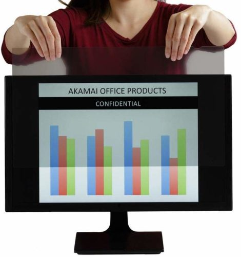 "Monitor Anti Glare Screen – Anti-Glare, Anti-Scratch, Blocks 96% UV Blue Light Protection – Matte Gloss Finish (19.0"" Square (5:4, Anti-Glare))"