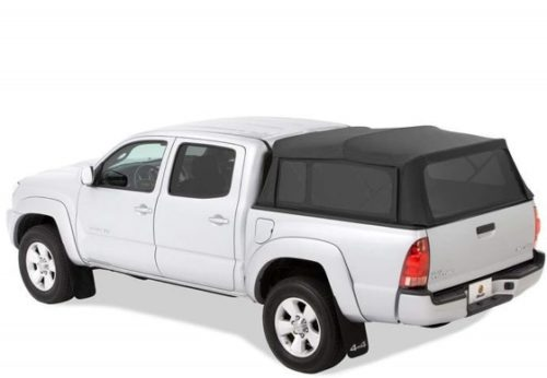 Bestop 7630835 Black Diamond Supertop for Truck - 5.0' Bed for 2005-2017 Toyota Tacoma Double Cab