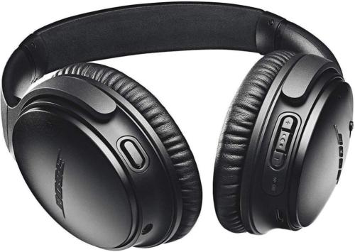 Bose QuietComfort 35 (II) Wireless Headphones, Noise Cancelling, Alexa Voice Control - Black - Worldwide Version