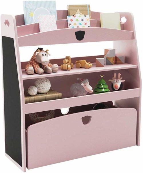 Bestier Toy Storage Rack Kid's Shelf - Toy Storage