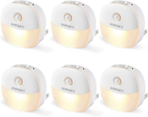 POHAKU Plug-in Mini Warm LED Nightlight