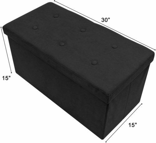 Surbus storage ottoman bench collapsible - Storage Bench
