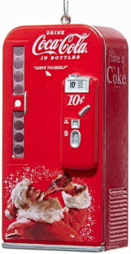 Kurt Adler Coca-Cola Vending Machine