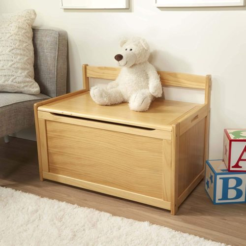 Melissa & Doug Wooden Toy Chest