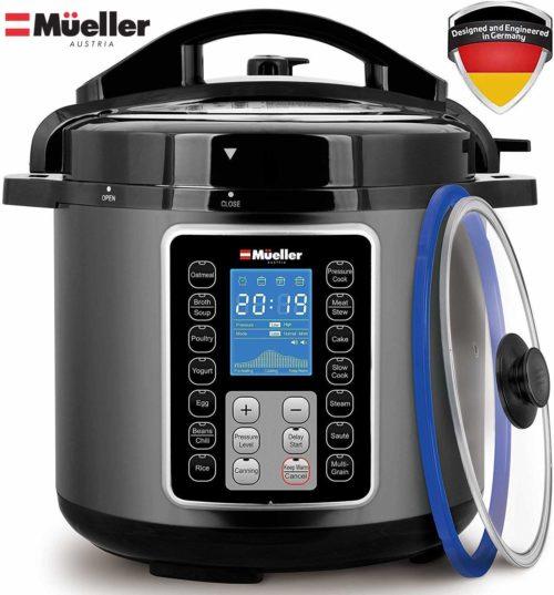 Mueller Ultra Pot 6Q Pressure Cooker