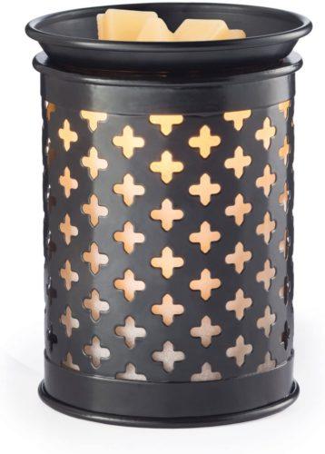 Tin Punched Illumination Fragrance Warmer