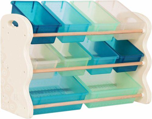B. spaces Tidy Toy Organizer - Toy Storage