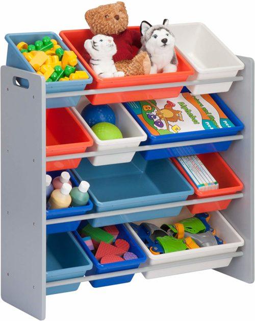 Honey-Can-Do Kids Toy Organizer and Storage Bins - Toy Storage