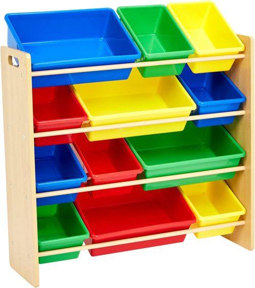Amazon Basics Kids Toy Storage Organizer Bins - Toy Storage