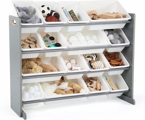 Tot Tutors Springfield Wood Toy Storage Organizer - Toy Storage