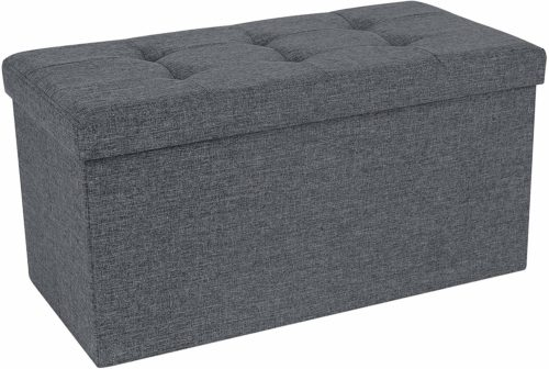 SONGMICS Storage Ottoman Bench - Storage Bench