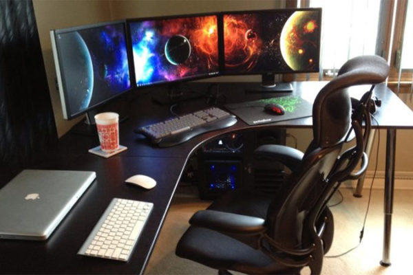 Corner Gaming Desk