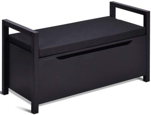 Giantex Shoe Storage Bench with Cushion