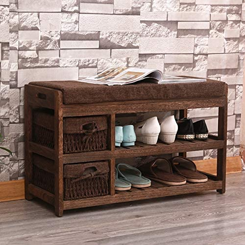 BrightteR Entryway Bench With Shoe Storage