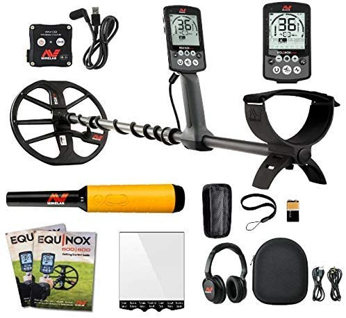 Minelab Equinox 800 Multi-IQ - Waterproof Metal Detectors