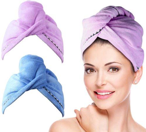 Duomishu Shower Head Towel