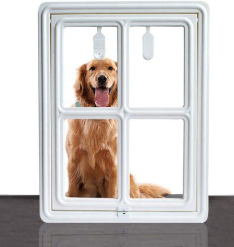 SUCCESS Dog Screen Door for Sliding Screen Door
