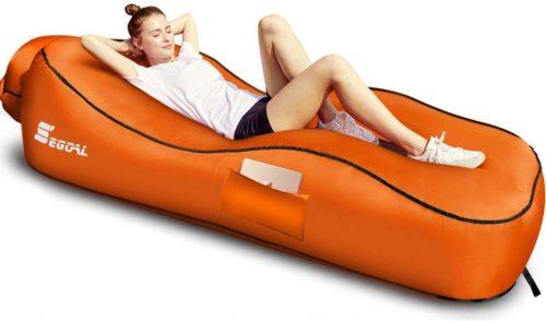 SEGOAL Ergonomic Inflatable Lounger