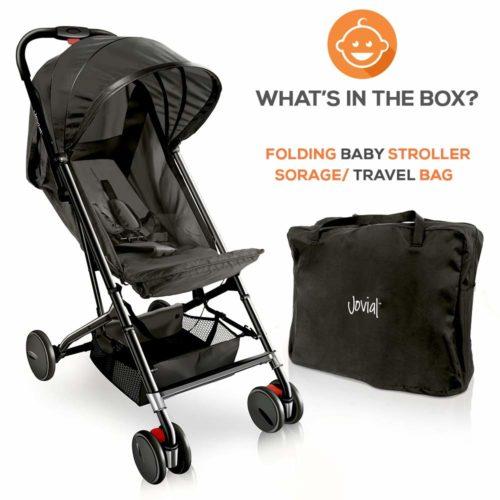 Portable Folding Lightweight Baby Stroller - Lightweight Strollers