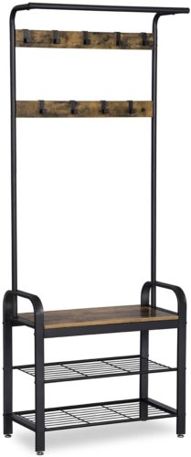 VASAGLE DAINTREE Coat Rack​ - Hall Tree Bench