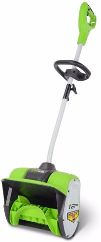 Greenworks 12 inch corded Electric Snow Shovel
