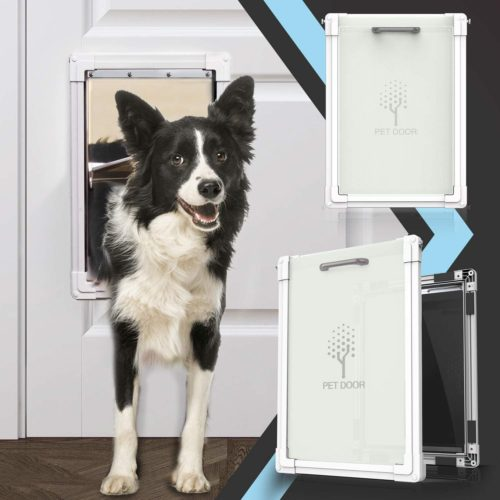 lesotc 2 Ways Locking Dog Door
