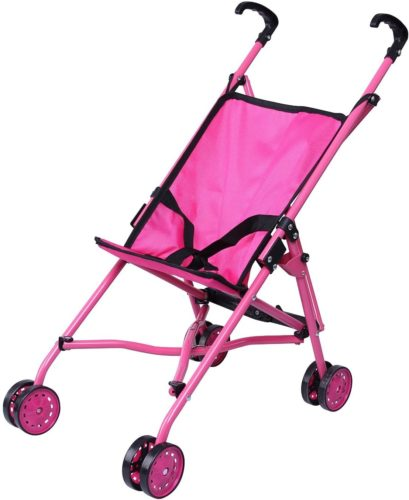 Precious toys Hot Pink Umbrella Doll Stroller