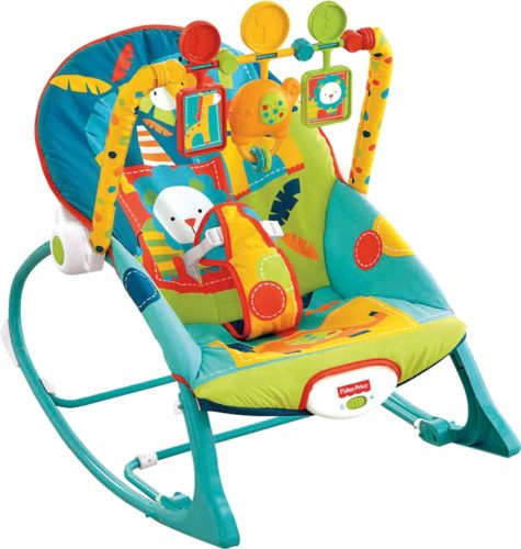 Fisher-Price Infant-to-Toddler Rocker - Baby Swing Chair