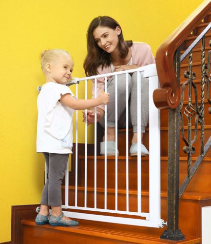 Lemon tree Baby Gates for stairs and doorways
