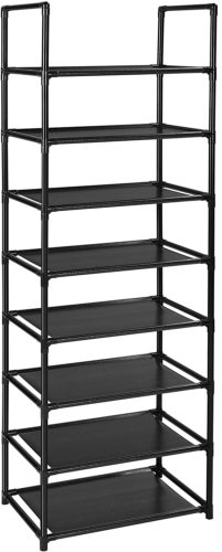 Fiducial shoe rack